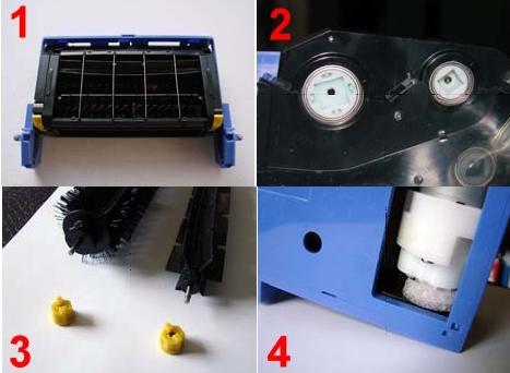Erneuerungen der Romba Roboterstaubsauger ab Baujahr 2009