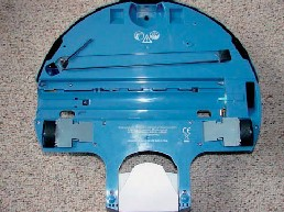 Unterseite des iRobot Scooba Bürsten